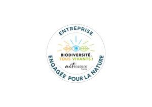 Blooming reconnue «Entreprise engagée pour la nature – act4nature France» par l'Office français de la biodiversité (OFB)